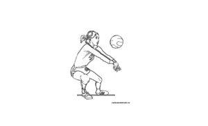 Раскраска волейбол