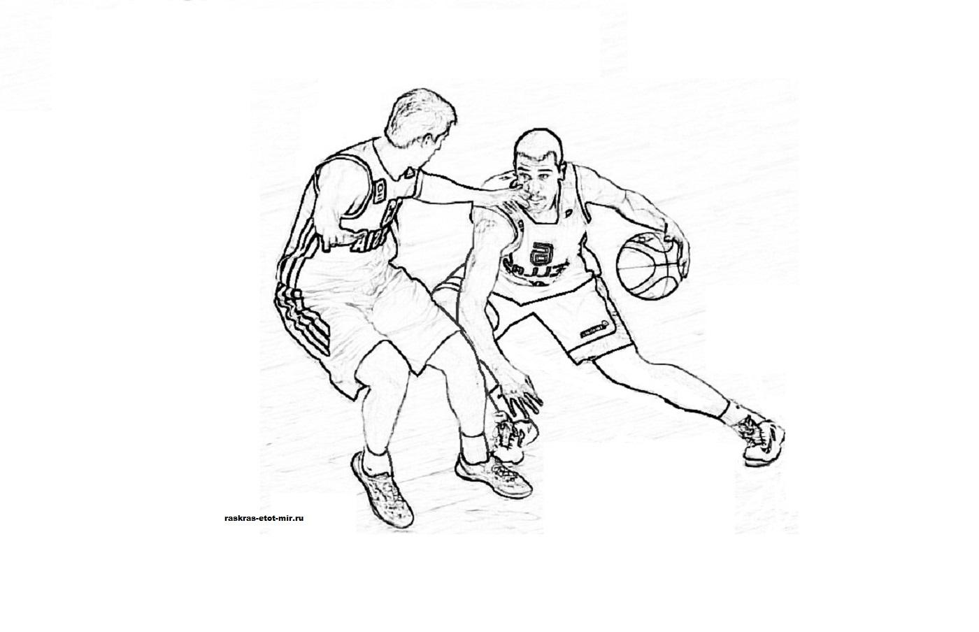 Раскраски на тему спорта - Раскрась этот мир!
