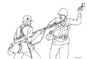 Рукопашная схватка солдат ВОВ