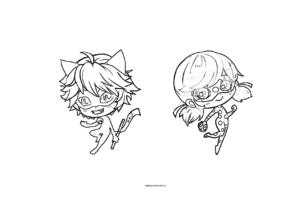 Маленькие Леди Баг и Супер Кот