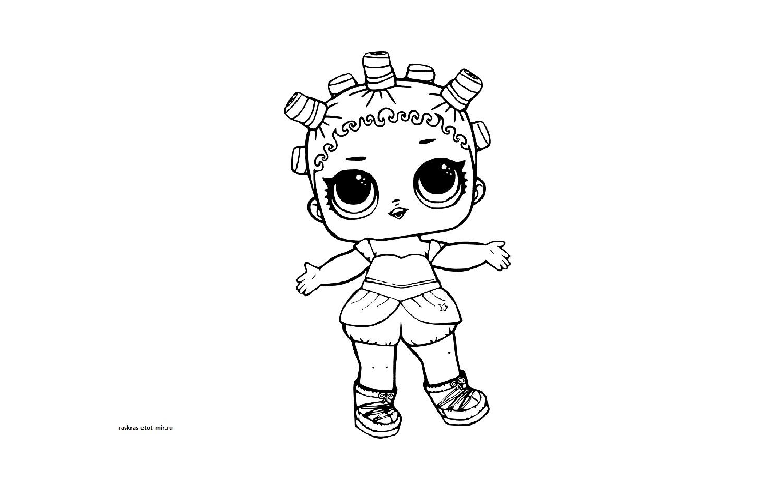 Кукла lol сверкающая - Челябинский Детский Мир