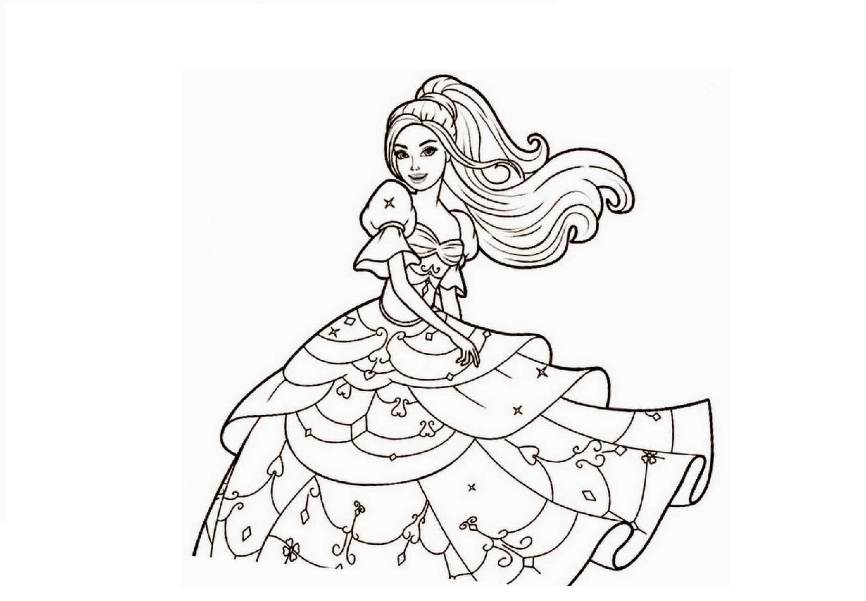Раскраски Барби для девочек - Раскрась этот мир!