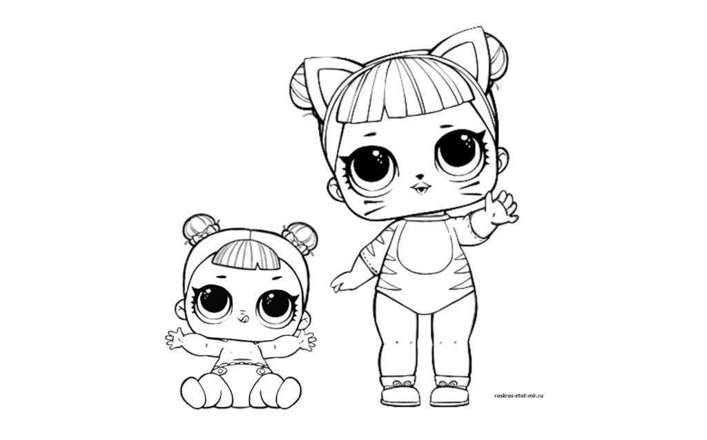 ЛОЛ Baby-cat с сестренкой