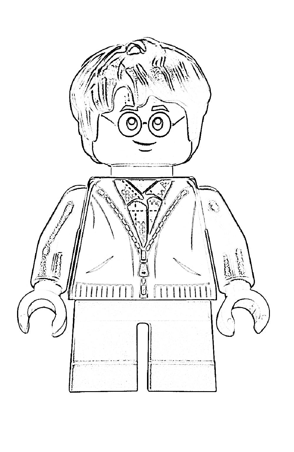 Раскраска Гарри Поттер 2 - Раскрась этот мир!