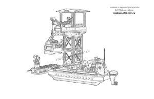 Лего Сити лодка