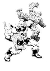 Раскраска Таноса